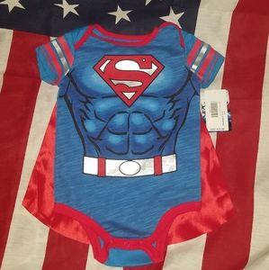 🎃Baby's 6-12 Months Superman Costume Onesie🎃